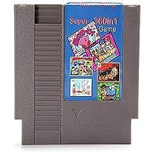 Rishil World 360 In 1 Super Game 72 Pin 8 Bit Game Card Cartridge For NES Nintendo