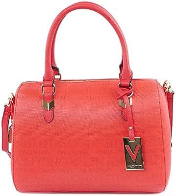 Valentino - Bolso de asas de Piel para mujer rojo rojo