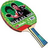 Butterfly Wakaba Table Tennis Racket - 1000 Model - 1 Ping Pong Paddle - ITTF Approved - Sponge and Wakaba Rubber