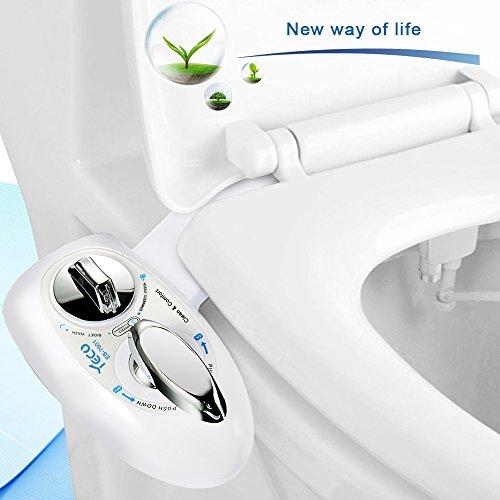 Bidet,YECO Wc mit Dusche WC Bidet für Intimpflege Bidet mit Reinigungsfunktion für Damen Einfache Installation (Bist du sicher, dass du es nicht probierst)