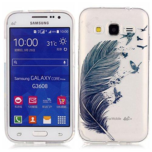 Samsung Galaxy Core Prime G360 Coque, AYASHO® Ultra Mince Motif Matériel De TPU de téléphonie mobile De Silicone Housse Pour Samsung Galaxy Core Prime G360  Core Prime VE Value Edition G361, M01