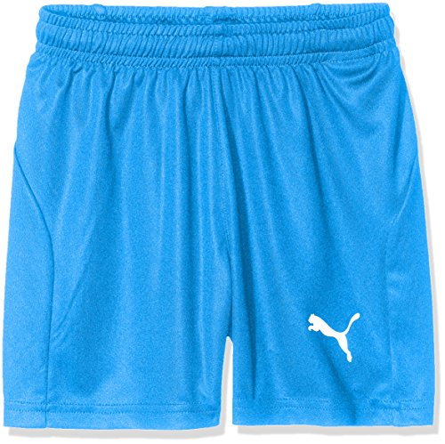 Puma Kinder Liga Core Shorts, Electric Blue Lemonade/White, 128 - Junior Mädchen Short