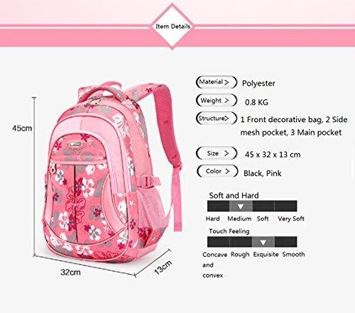 48287d3ff4 Zaino borsa trolley scuola viaggio computer tablet I bambini di rotolamento  Zaino (Nero). Visualizza le immagini