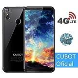 CUBOT J3 Pro (2018) Pantalla 18:9/5.5' 4G Android GO Reconocimiento Facial Dual Sim 1GB + 16GB, Dual Cámara Trasera 13MP +2MP/ Frontal 5MP, Procesador Quad-Core,WiFi, Bluetooth,GPS,4G/3G/2G Negro