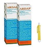 2 x 200 ml Ardap Ungezieferspray Konzentrat mit Langzeitwirkung + Zeckenzange