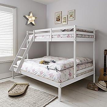 triple bed bunk bed kent in white noa  u0026 nani alaska futon bunk bed  amazon co uk  kitchen  u0026 home  rh   amazon co uk
