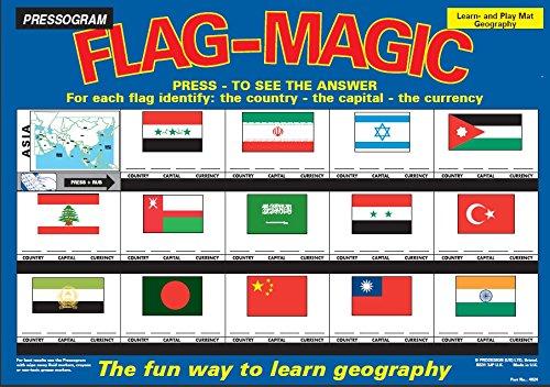 Prodesign - Juguete Educativo con Bandera de Asia