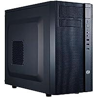 Cooler Master N200 - Caja de ordenador (Mini-Tower, PC, Micro-ATX, Mini-ITX, 0W, Fondo, 1x 120 mm)