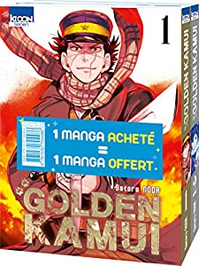 Golden Kamui Pack découverte Tomes 1 & 2
