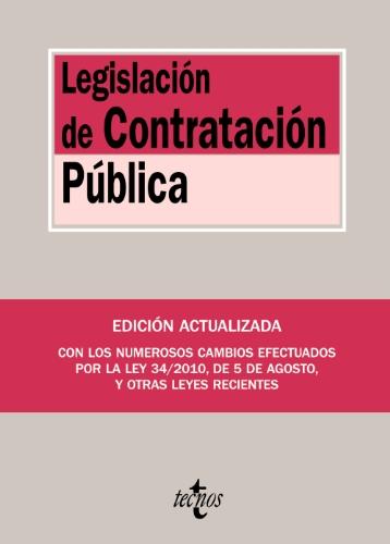 Legislación de Contratación Pública (Derecho - Biblioteca De Textos Legales)