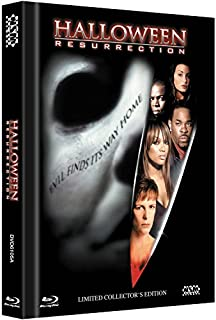 Halloween: Resurrection - Uncut [Blu-ray + DVD] limitiertes Mediabook Cover A [Limited Collector's Edition] [Limited Edition]