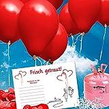 galleryy.net 100 Ballonflugkarten zur Hochzeit | Flugkarten für Hochzeitsballons im Set