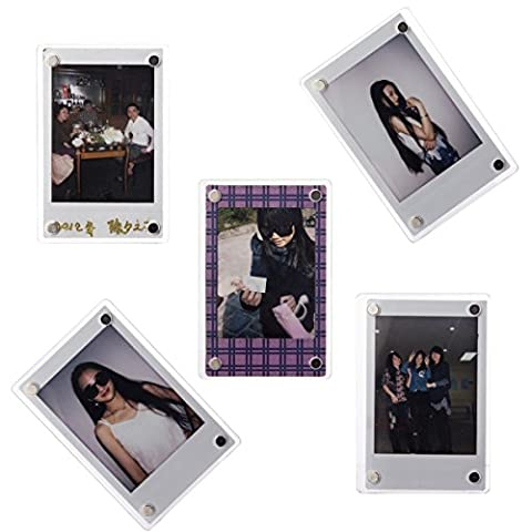 [WOODMIN Creative Photo Frame Series] Customized 3-inch Clear Acrylic Fridge