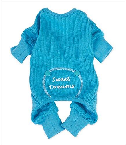DoggieDesign Sweet Dreams Thermo-Pyjama für Hunde aus Baumwolle (Pyjamas Sweet Dreams)