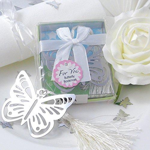 ichen Schmetterling Gastgeschenke Hochzeit Gastgeschenk vintage box kartonage metall band mädchen kommunion ()