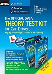 The official DVSA theory test KIT for car drivers pack