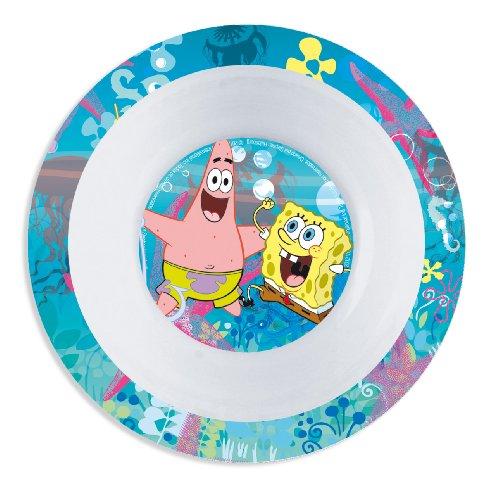 Stor 47291–Melamin-Schüssel, Motiv SpongeBob Schwammkopf Rainbow