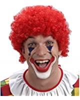 Red Clown Curly Wig