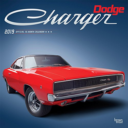 Dodge Charger 2019 - 18-Monatskalender (Wall-Kalender)