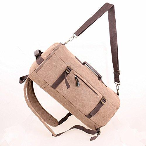 Escursionismo Zaini, borse, borse da trekking, borse all'aperto, impermeabile Uomini zaino la versione di aggiornamento di uno zaino con una coppia di zaino zaino,blu Coffee