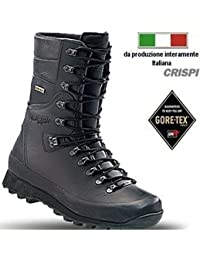 neri per amp; militari unisex Accessori Calzature Crispi qw7S8t8A