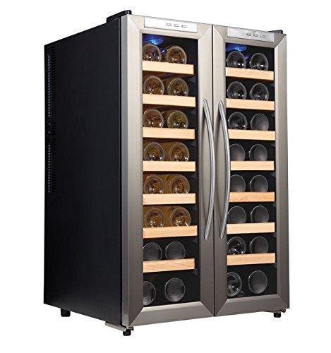 Weinkühlschrank für 32 Flaschen (100L), 525 x 820 x 510 mm