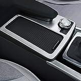 Per classe C W2042008-2013auto ABS opaco argento centrale console Cup Holder Frame Trim di