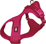 Trixie Soft Hundegeschirr, 35–60 cm x 20 mm, Fuchsia