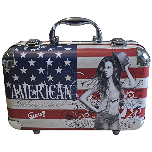 Gloss! Make-up Schminkkoffer - USA Fashion Week, 1er Pack (1 x 62 Stück) Geschenk-Box - Make-up Kit