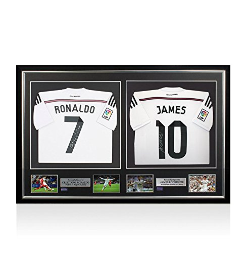 Cristiano-Ronaldo-James-Rodriguez-Signed-Real-Madrid-2014-15-Home-Shirts-Master-Frame
