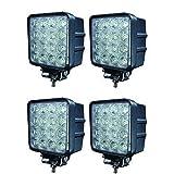 C8P 4×48W LED 3800lm 6000K Arbeitsscheinwerfer Außenstrahler Lampe Zusatzscheinwerfer für 10-24V