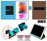 reboon Hülle für XIDO Z120 3G Tasche Cover Case Bumper | in Braun | Testsieger