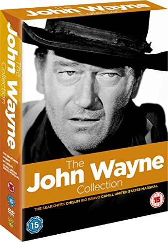 WARNER HOME VIDEO John Wayne Signature Collection 2011 - The Searchers / Chisum / Rio Bravo / Cahill Us Marshall [DVD]