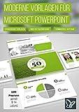 Moderne PowerPoint-Vorlagen (PC+Mac)