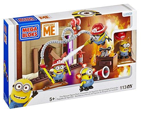 Preisvergleich Produktbild Mega Bloks 94816U - Ich Einfach Unverbesserlich Fire Rescue Figure Pack
