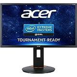 Acer XF240H 61 cm (24 Zoll Full HD) Monitor (DisplayPort, DVI, HDMI, 1ms Reaktionszeit, 144Hz, Höhenverstellbar, AMD FreeSync) schwarz