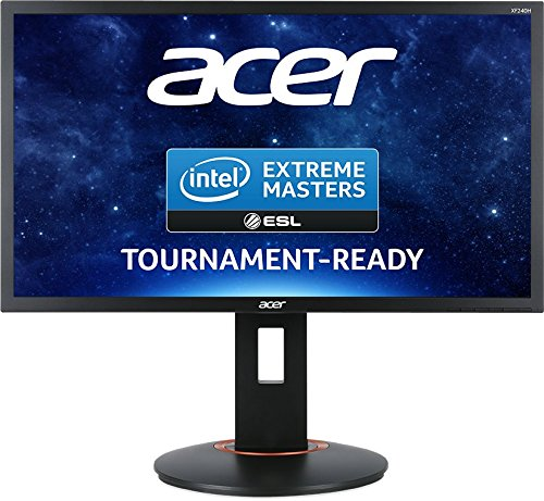 Acer XF240H 24 inch Wide, Full HD Gaming LED Monitor with FreeSync, 1 ms, HDMI (MHL), Display Port and Height adjustable