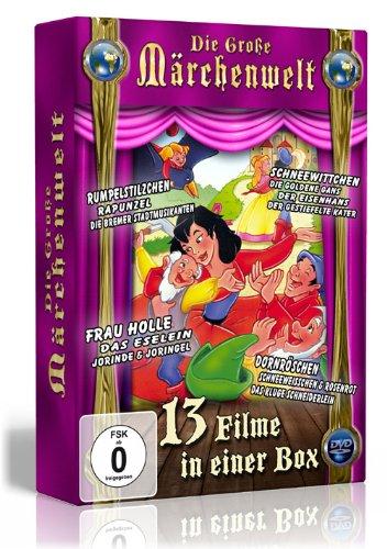 Die große Märchenwelt ( 13 Filme auf 4 DVDs ) Preisvergleich