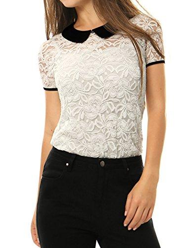 allegra-k-mujer-blusa-transparente-encaje-cuello-babero-en-contraste-blanco-m-us-10