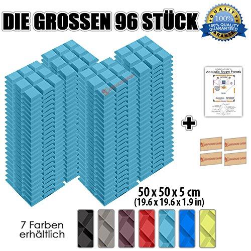 super-dash-96-unidades-de-50-x-50-x-5-cm-grid-bevel-techo-studio-espuma-acustica-corrugada-espuma-ac