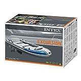 Intex Boot Excursion 5 Set, Grau, 366 x 168 x 43 cm / 4-teilig Test