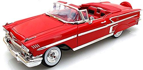 motormax-gotzmm73112rd-118-scale-red-1958-chevrolet-impala-die-cast-model-car
