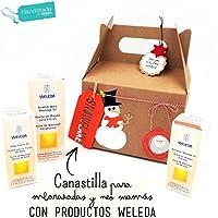 """Set Natalizio WELEDA """"Gravidanza e Allattamento""""   Regalo per Donne in Attesa e Neo-Mamme   Con prodotti Weleda BIO 100% naturali   Original Christmas Gift Idea for MUMS"""