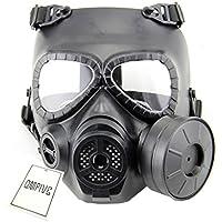 Táctico Máscara QMFIVE Dummy anti niebla máscara de gas M04 con ventilador Airsoft paintbal protección Gear
