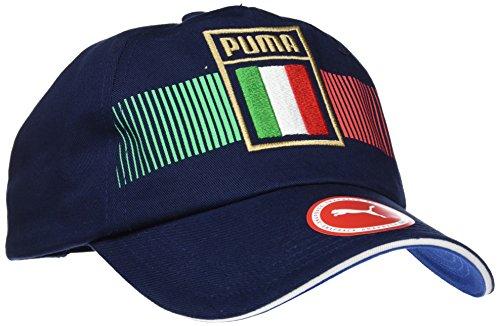 Puma Italia Fan Cap, Team Power Blue-Peacoat, OSFA Twill Peacoat