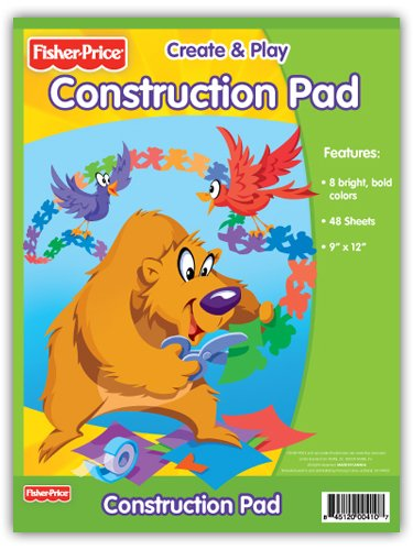 Primary Colors Fisher Price Construction Pad (410-24-FP)