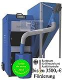Pelletsheizkessel EKO-PE Dual 35 / 10 - 35 kW Behälter 540Liter