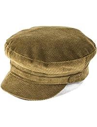 Failsworth Hats Cord Mariner Cap in Fawn