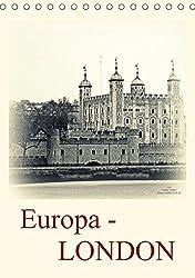 Europa - LONDON (Tischkalender 2017 DIN A5 hoch): Die Weltmetropole London erstrahlt hier in neuen fotografischen Outfit (Planer, 14 Seiten )