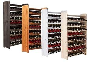 Cave vin casier vin tag re bouteille vinothek pour 56 bouteilles amaz - Cave a vin 70 bouteilles ...